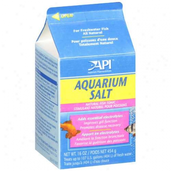 Mars Fishcare Aquarium Salt 16 Ounces - 106