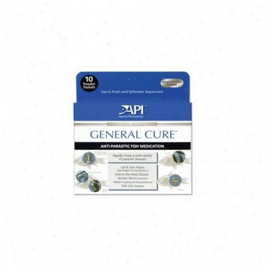 Mars Fishcare North Amer - General Curre Powder Pwcket 10 Pack - 15p