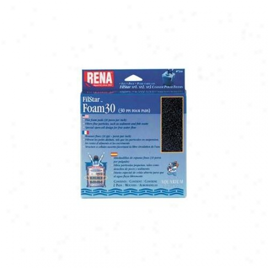 Mars Fishcare North Amer - Rena Filstar Foam 30 2 Pack - 724a