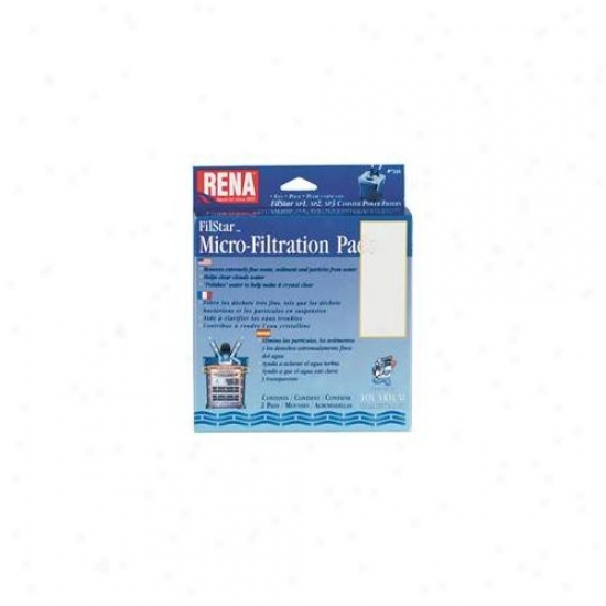 Mars Fishcare Northerly Amer - Rena Filstar Micro-filtration Pads 3 Pack - 733a