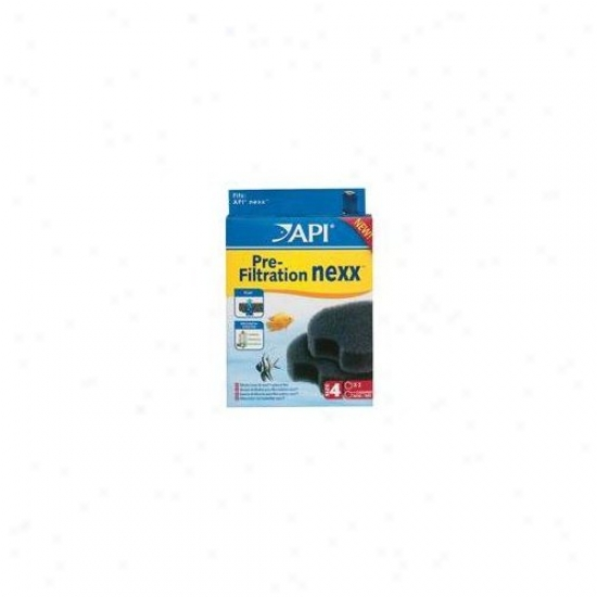 Mars Fishcare North America Api Nexx Circular Foam 30 Filter - 2 Pack