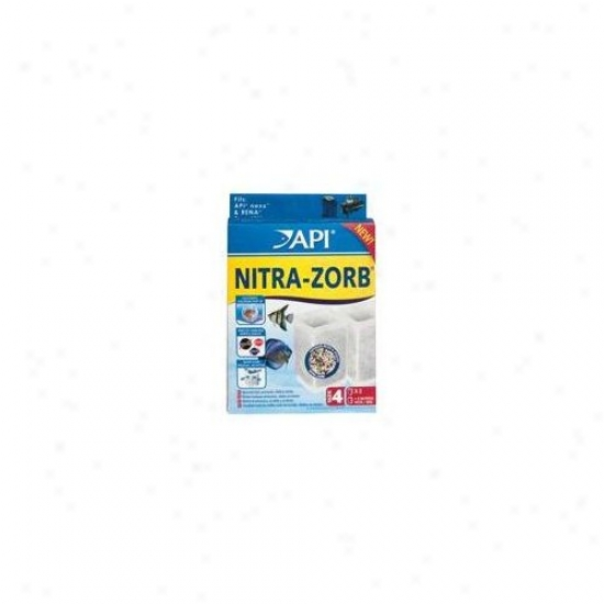 Mars Fishcare North America Api Nitra-zorb Size 4 Filter - 2 Pack