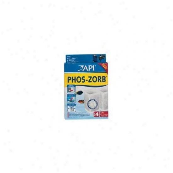 Mars Fishcare North America Api Phos-zorb Size 4 Strain - 2 Pack