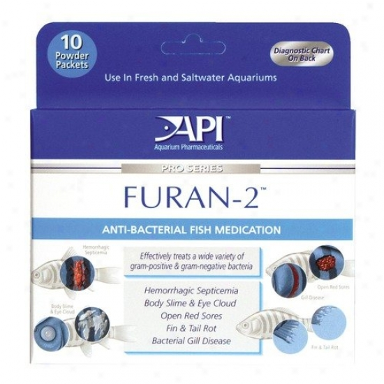 Mars Fishcare North America Furan-2 Powder Fish Medication - 10 Pack