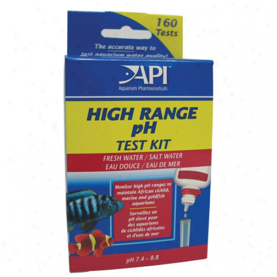 Mars Fishcare North America High Range Ph Test Kit