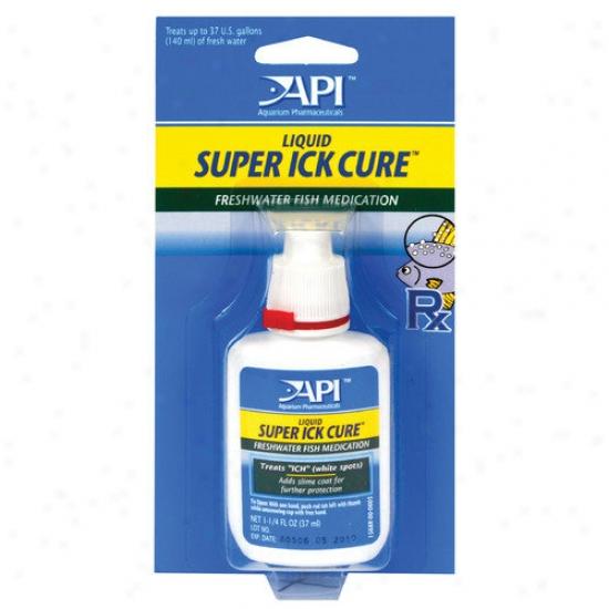 Mars Fishcare North America Liquid Super IckC ure Fish Medication - 1.25 Oz.