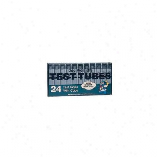 Mars Fishcare Test Tubes With Caps 24 Pack - 32