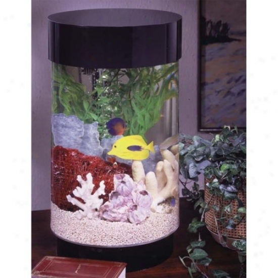 Midwest Figurative Aqua 8 Gallon Round Aquarium