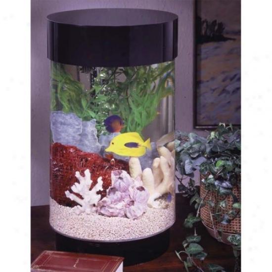 Midwest Figurative Aqua 8 Gallon Round Aquarium