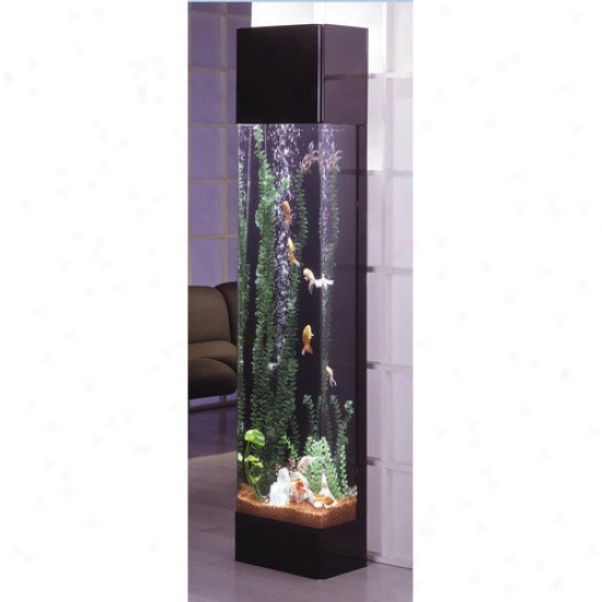 Midwest Tropical Fountain Aquatower 30 Galllon Rectangle Aquarium