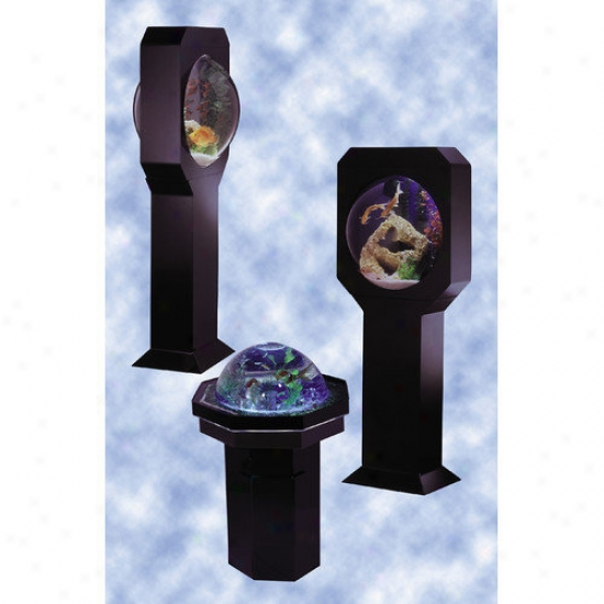 Midwest Figurative Fountain Aquavision 25 Gallon Aquarium