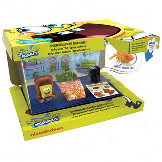 Nickelodeon Spongebob Squarepants' At Home Aquarium Kid, 4 Gal