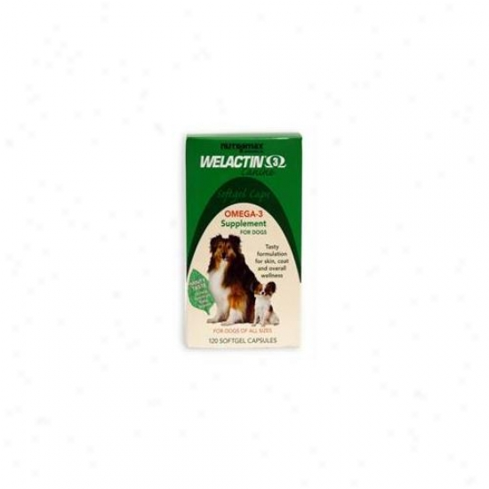 Nutrimax 015nm-120 Welactin Soft Gel Caps For Dogs, 120 Count