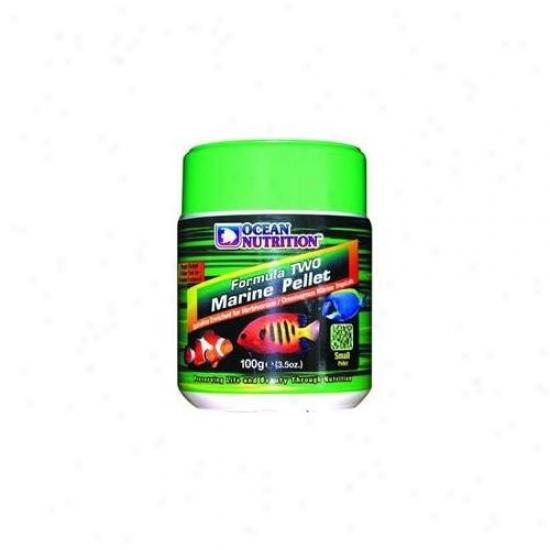 Ocean Nutrition - Salt Creek - Aon09244 Soft And Moist Form 2 Marine  Inchsmall Pellet Inch 400 Gram