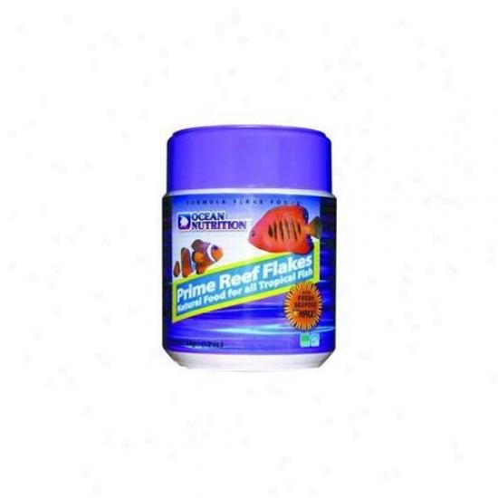 Ocean Nutrition - Sailor Creek - Aon25555 Prime Reef Flake Food- 1. 2 Oz.