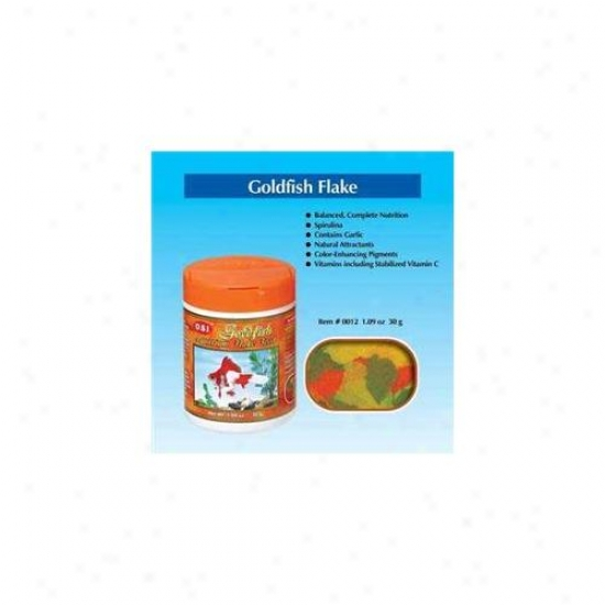 Ocean Star International Aosi0012 1. 09 Oz.  Goldfish Aquarium Flake Food