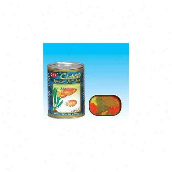 Ocean Star International Aosi0074 Cichlid Flakes 7. 06oz