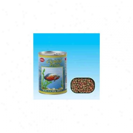 Ocean Star International Aosi1234 Medium Cichlid Pellets 14oz