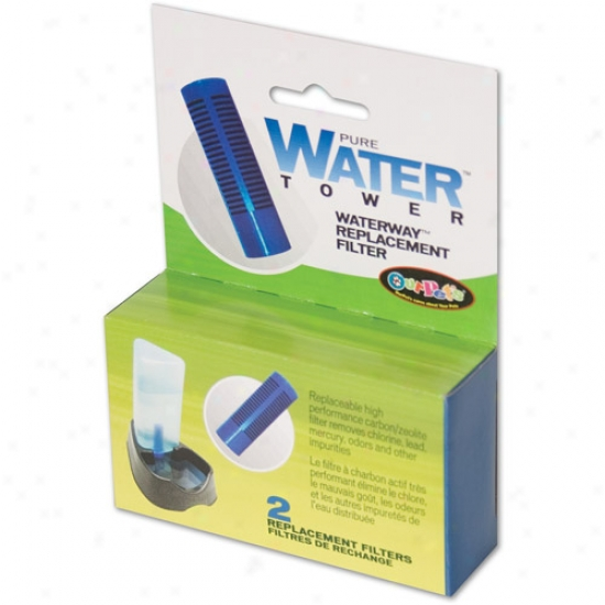 Ourpet's Pure Water Replacement Filter, 2pk