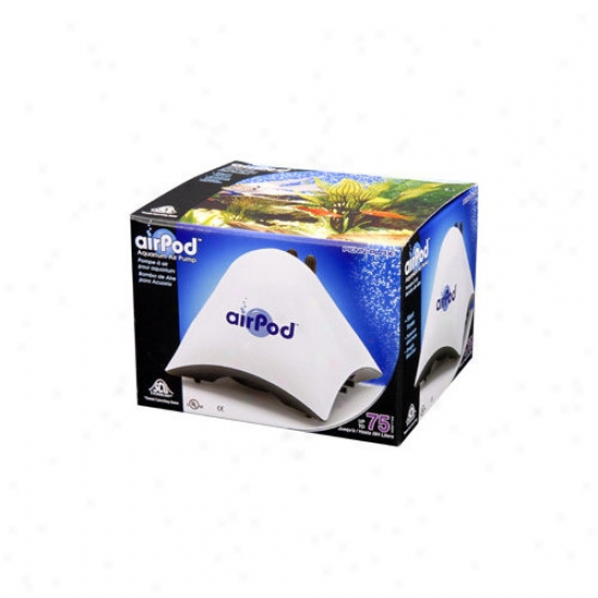 Penn Plax Aiir-pod Aquarium Up To 75 Gallons Air Pump