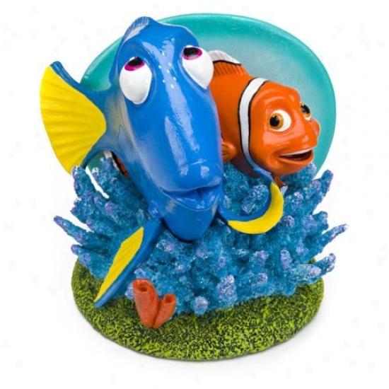 Penn Plax Dory And Marlin 6 In. Aquarium Ornament