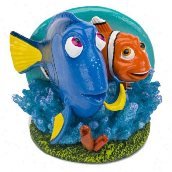 Penn Plax Dory And Marlin Aquarium Decor