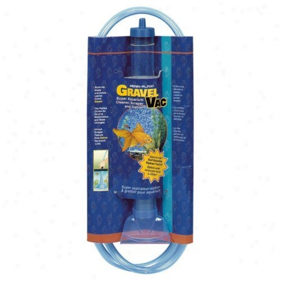Penn Plax Gravel-vac 16 In. Cylinder With 72 In. Hose