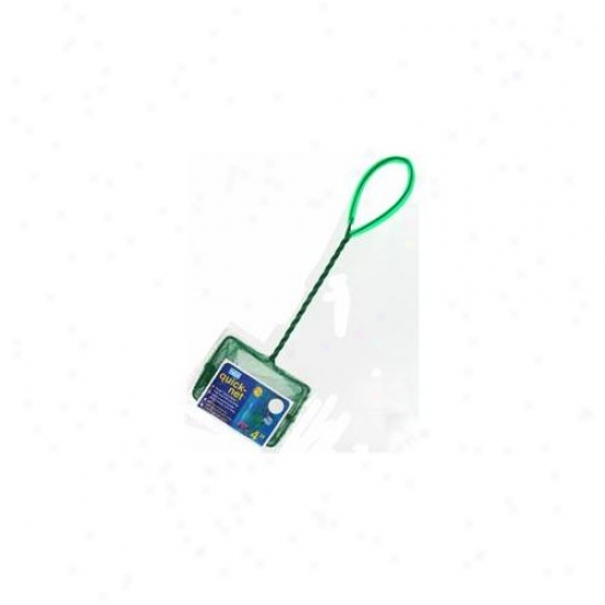 Penn-plax Inc 4inch Green Quick-net  Qn4