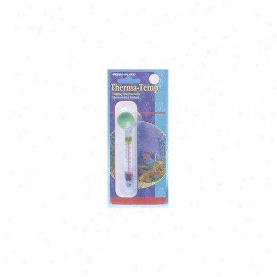 Penn-plax Inc Therma Temp Floating Thermomter  Tf