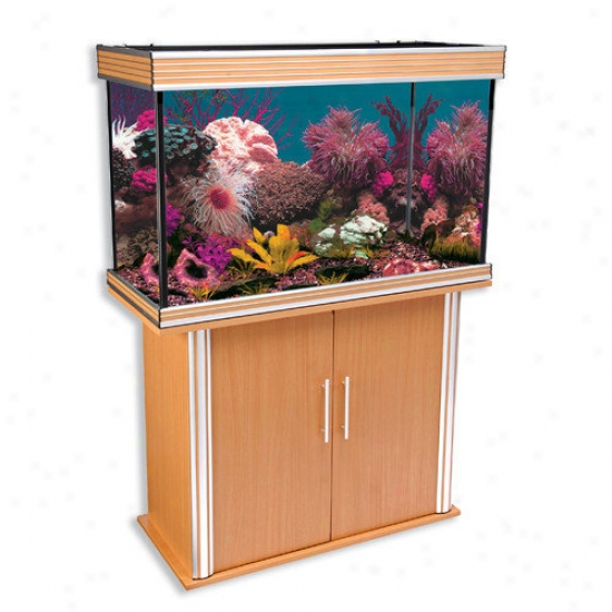 Penn Plax Nautilus Ii Aquarium With Gentle Trim And Stand