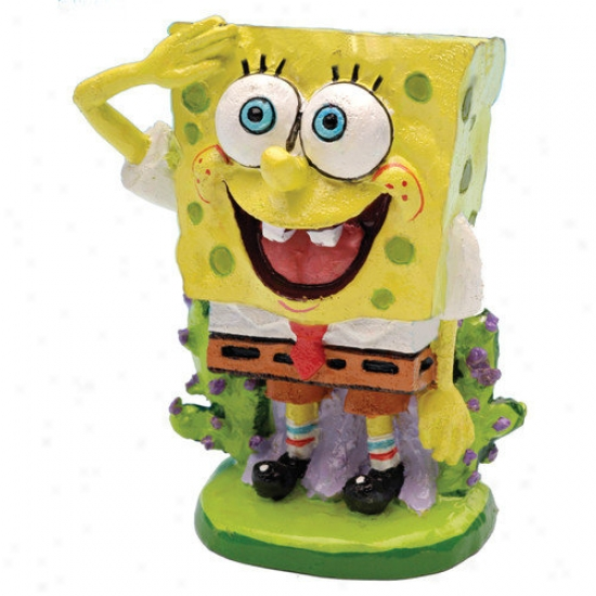 Penn Plax Nickelodeon Spongebob Squarepants Mini Resin Ornament