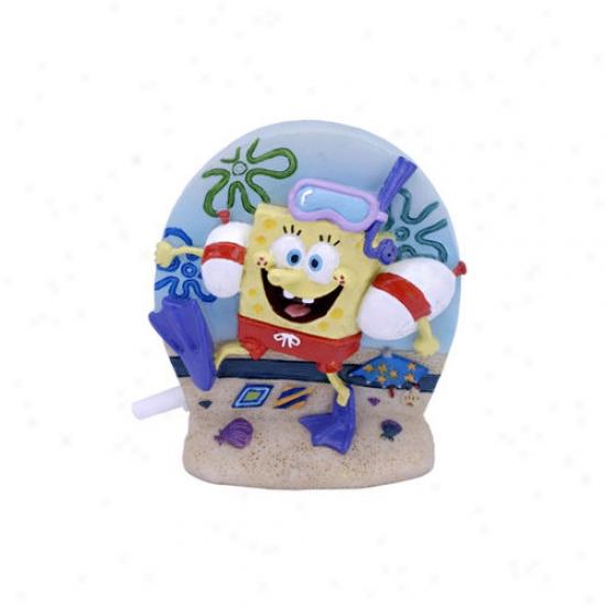 Penn Plax Nickelodeon Spongebob Squarepants Scuba Diver Ornament