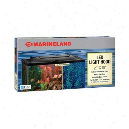 Perfecto Manufacturing Led Aquarium Cover In Black