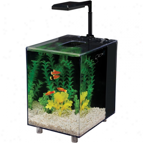 Prism Nano Aquarium Kit, Black