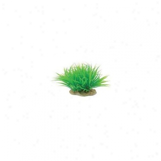 Classic Aquatic Original Elements Microsword Aquarium Ornament In Green