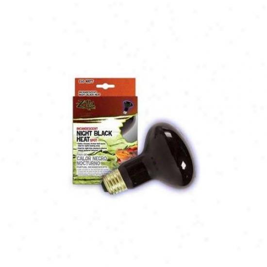 R-zilla Srz100009931 Boxe dNight Spot Heat 150 Watt - Black