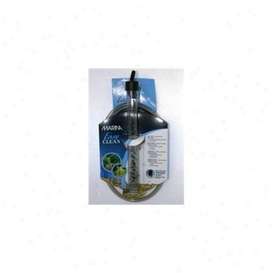 Rc Hagen 11060 Marina Gravel Cleaner, Mini, 10 Inch, 1 Inch Diameter Through  6 Ft.  Tube