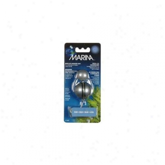 Rc Hagen 13427 Marina Single Light Unit Through  6 Ft.  Cord, Blue