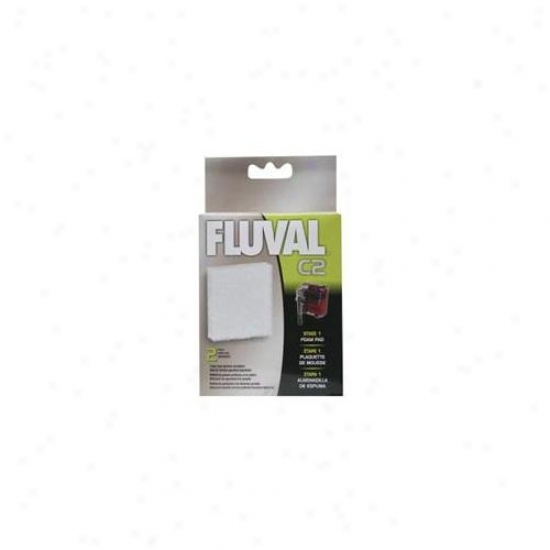 Rc Hagen 14005 Fluval C2 Froth Pad 2-pack