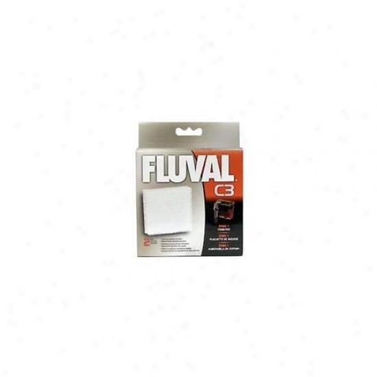 Rc Hagen 14006 Fluval C3 Foam Pad 2-pack