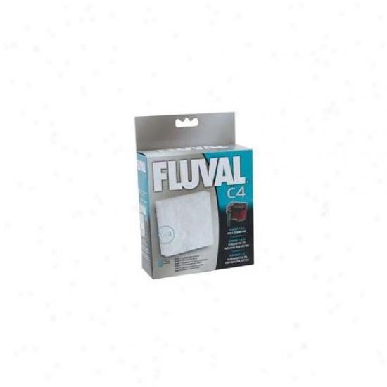 Rc Hagen 14010 Fluval C4 Poly Foam Pad 3-pack