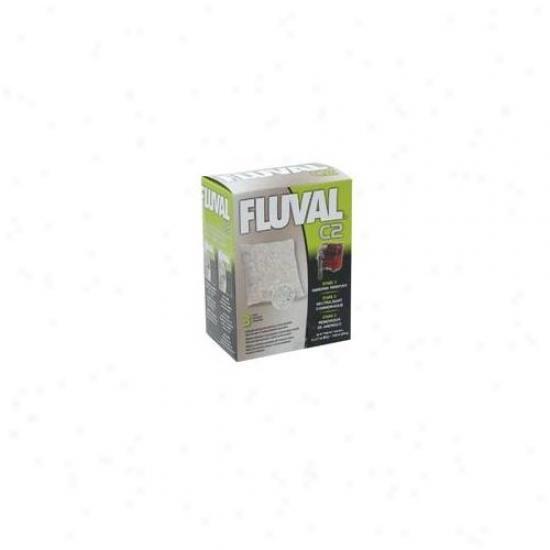 Rc Hagen 14014 Fluval C2 Ammonia Remover 3-pack
