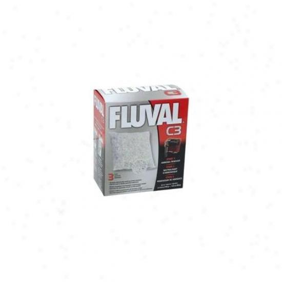 Rc Hagen 14015 Fluval C3 Ammonia Remover 3-pack