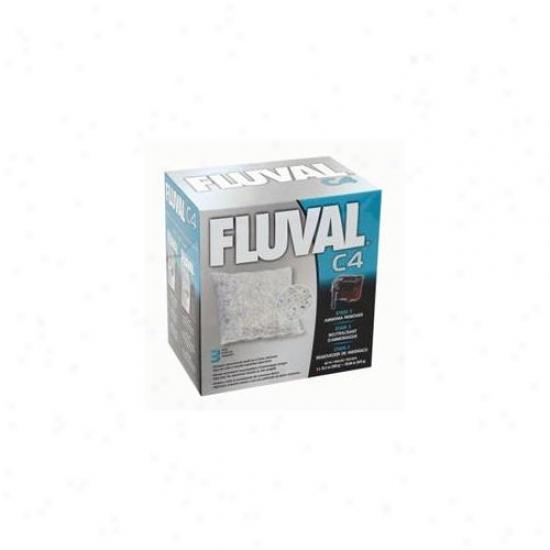 Rc Hagen 14016 Fluval C4 Ammonia Remover 3-pack