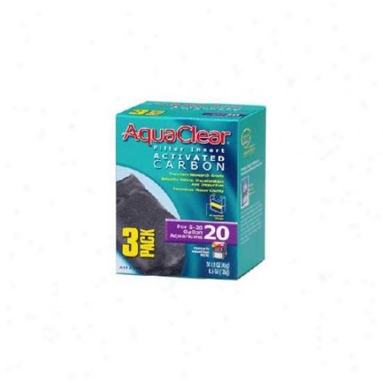 Rc Hagen A1380 Aquaclear 20 Activated Carbon - 3-pack