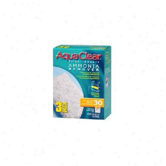 Rc Hagen A1412 Aquaclear 30 Ammonia Remover - 3-pack