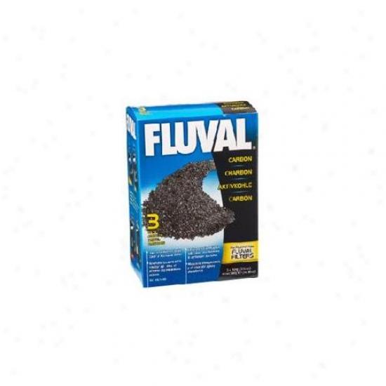 Rc Hagen A1440 Fluval Carbon, 100 Gram - 3-pack Nylon Bags