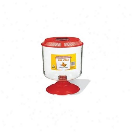 Rc Hagen A1516 Fin Pals Goldfish Bowl, Large- 1 Gallon Tank