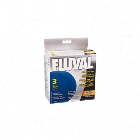 Rc Hagen A248 Fluval Fine Filter Pad, For Fluval Fx5 - 3-pack