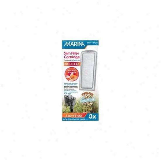 Rc Hagen A293 Marina Slim Filter Zeolite Plis Ceramic Cartridge, 3-pk